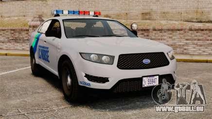 GTA V Vapid Police Stanier Interceptor [ELS] pour GTA 4