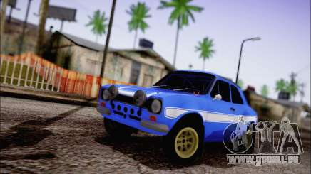 Ford Escort Mk1 RS1600 pour GTA San Andreas