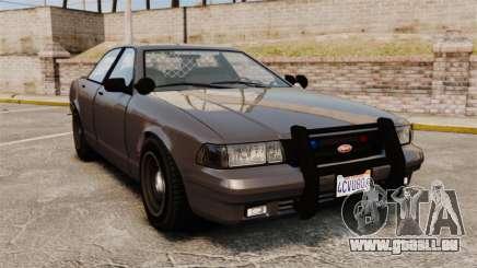 GTA V Unmarked Cruiser Police pour GTA 4