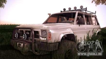 Nissan Patrol GR 1991 pour GTA San Andreas