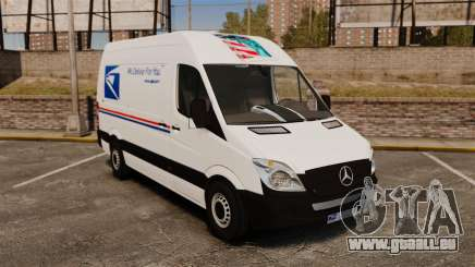 Mercedes-Benz Sprinter US Mail für GTA 4