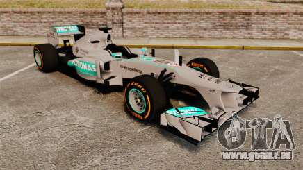 Mercedes AMG F1 W04 v3 pour GTA 4