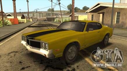 Sabre HD from GTA 3 pour GTA San Andreas