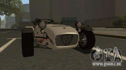 Caterham 7 Superlight R500 für GTA San Andreas