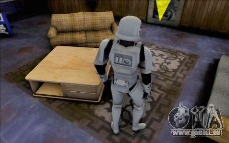 Sturmtruppen aus Star Wars für GTA San Andreas dritten Screenshot