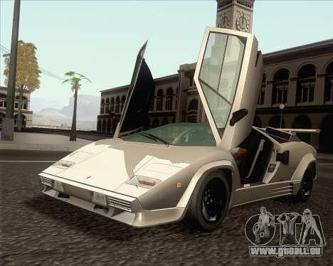 Lamborghini Countach LP500 Quattrovalvole 1988 für GTA San Andreas