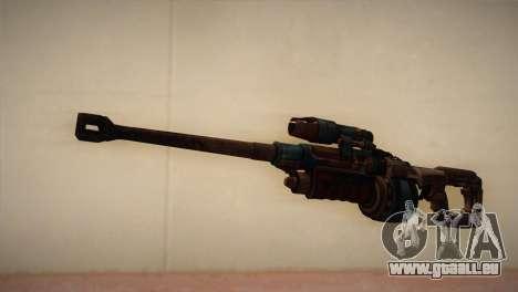 Fusil de sniper de Bulletstorm pour GTA San Andreas