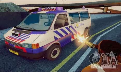 Volkswagen T4 Politie pour GTA San Andreas