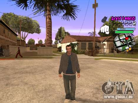 HUD für GTA San Andreas