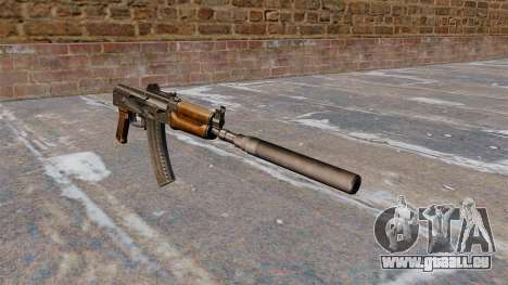 AKS74U automatique pour GTA 4