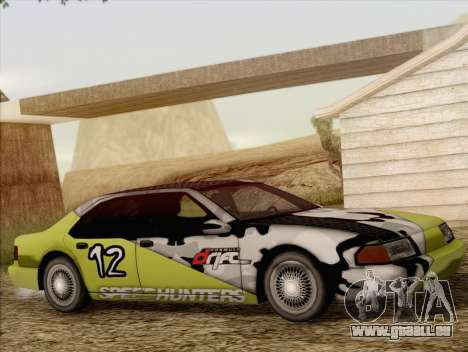 Fortune Sedan für GTA San Andreas Seitenansicht