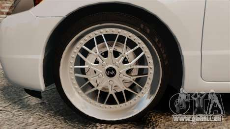 Honda Civic Si v2.0 pour GTA 4 Vue arrière