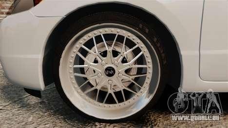 Honda Civic Si v2.0 für GTA 4 Rückansicht