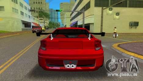 Toyota Celica XTC für GTA Vice City zurück linke Ansicht