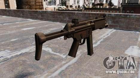 MR5A3-Maschinenpistole für GTA 4 Sekunden Bildschirm