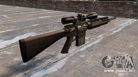 Scharfschützengewehr Armalite AR-10 für GTA 4 Sekunden Bildschirm