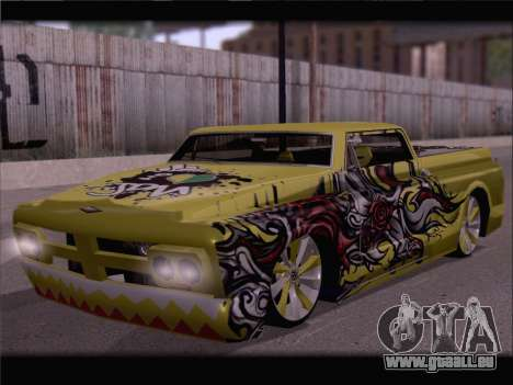 New Slamvan pour GTA San Andreas