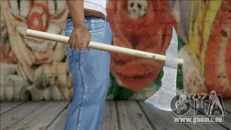 Tomahawk für GTA San Andreas dritten Screenshot