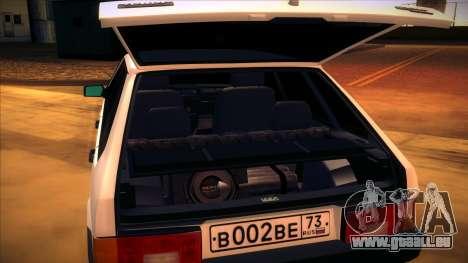 Vaz 2109 c. 2 pour GTA San Andreas vue de droite
