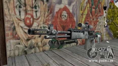 M14 EBR Arktis für GTA San Andreas