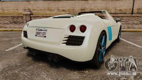 GTA V Obey 9F Spider für GTA 4 hinten links Ansicht