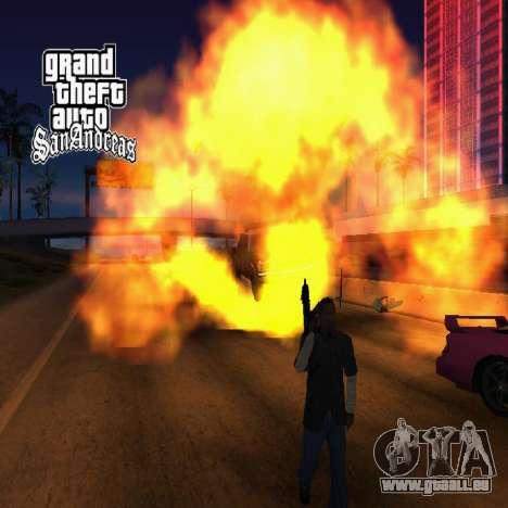 Nouveaux écrans de chargement pour GTA San Andreas sixième écran