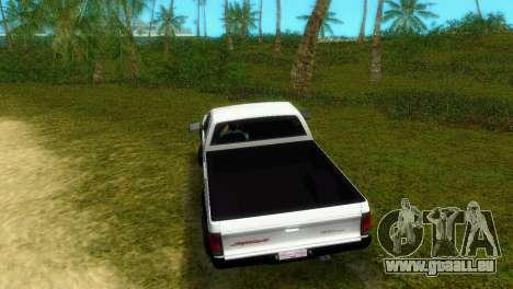GMC Cyclone 1992 pour GTA Vice City sur la vue arrière gauche
