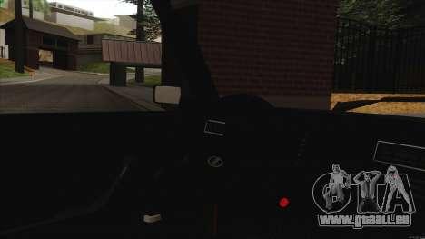 VAZ 2107 Bombilla pour GTA San Andreas vue intérieure