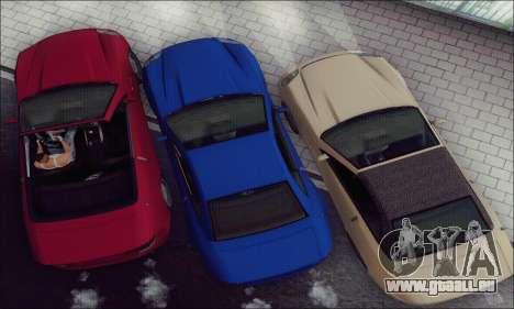 Feltzer de GTA IV pour GTA San Andreas vue intérieure