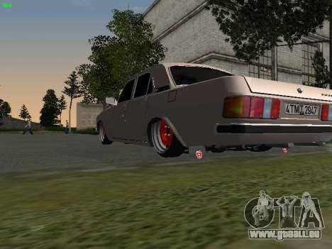 GAZ 3102 Stance pour GTA San Andreas vue de droite