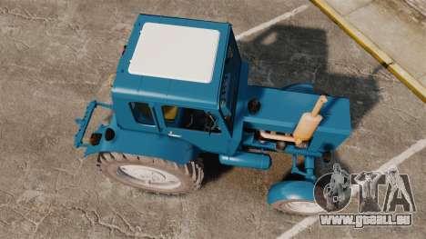 Traktor MTZ-80 für GTA 4 rechte Ansicht