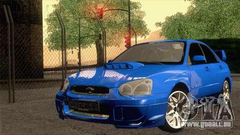 Subaru WRX STI 2004 pour GTA San Andreas
