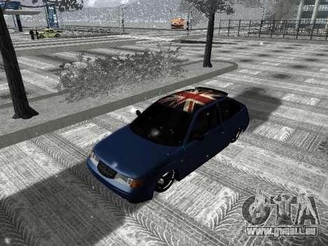 VAZ 21123 pour GTA San Andreas laissé vue