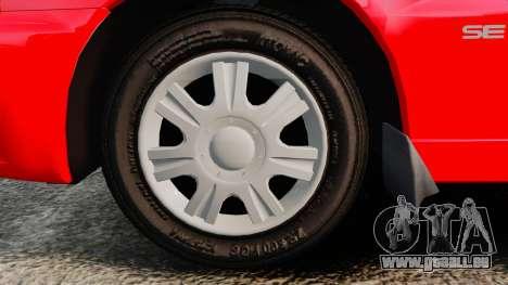FSO Lanos Plus 2007 Limited Version für GTA 4 Rückansicht