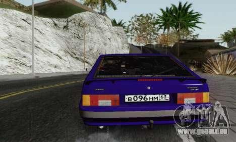 BA3 2114 pour GTA San Andreas vue de côté