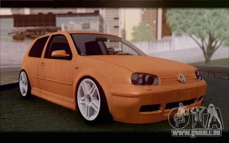 Volkswagen Golf IV für GTA San Andreas