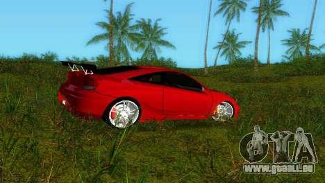 Toyota Celica XTC für GTA Vice City linke Ansicht