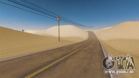 Lage von Desert Highway für GTA 4 dritte Screenshot