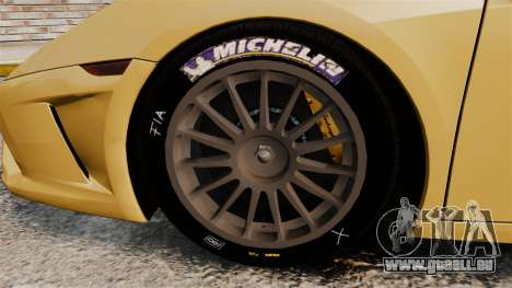Lamborghini Gallardo 2013 v2.0 für GTA 4 Rückansicht