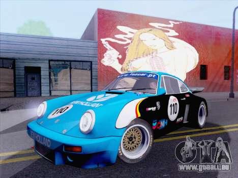 Porsche 911 RSR 3.3 skinpack 5 für GTA San Andreas rechten Ansicht