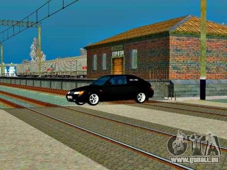 LADA 2112 Coupe grün Sandpiper für GTA San Andreas