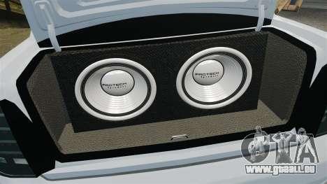 VAZ-2170 Lada Priora Turbo für GTA 4 Seitenansicht