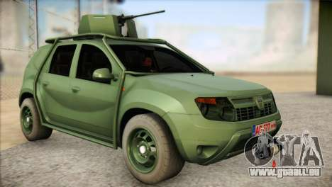 Dacia Duster Army Skin 1 pour GTA San Andreas