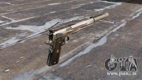 Das AMT Hardballer halbautomatische Pistole für GTA 4 Sekunden Bildschirm