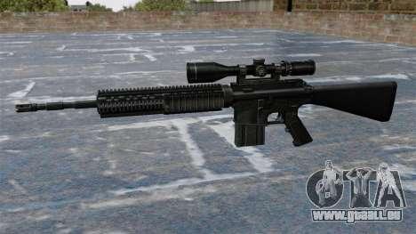 Scharfschützengewehr Armalite AR-10 für GTA 4 dritte Screenshot