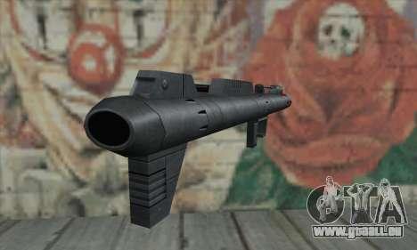 Raketenwerfer aus Star Wars für GTA San Andreas zweiten Screenshot