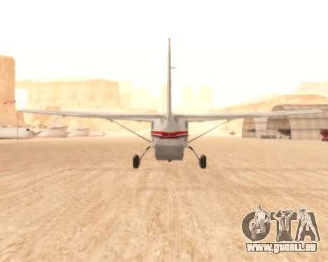 Cessna 208B Grand Caravan pour GTA San Andreas vue de droite