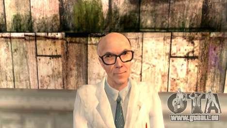 M. Kleiner pour GTA San Andreas troisième écran