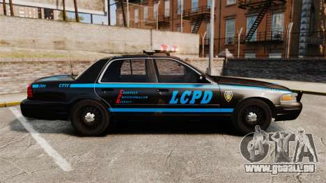 Ford Crown Victoria 1999 LCPD für GTA 4 linke Ansicht