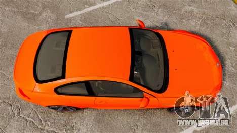 BMW M6 für GTA 4 rechte Ansicht